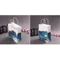 China Kraft Recyclable Paper Shopping Bags Accurate Nice Printing OEM Service on sale