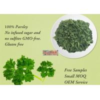China Freeze Dried Dehydrated Vegetable Flakes Parsley For Healthy Food Ingredients wholesale