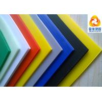 China PP Or PE Material Fluted Plastic Sheets For Making Plastic Boxes wholesale
