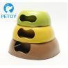 China Portable Dogs Bio Bamboo Pet Bowl Environmental Friendly New Design wholesale