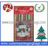 China Custom Printed Plastic Treat Bags HDPE 20 - 100micron For Christmas wholesale
