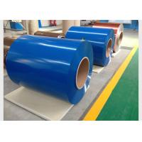 China Chemical Treatment Cold Rolled Steel Coil , 0.21mm Thickness Pre Painted Galvanized Iron Sheets wholesale