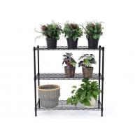 China Space Saving Metal Kitchen Shelves Cold - Rolled Steel Material Height Adjustable wholesale