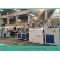 China Professional PVC Sheet Extrusion Line , 80mm Width White PVC Sheet Extruder on sale