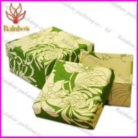 China Jewellery Luxury  Paper Packaging Boxes , Custom Design Cardboard Boxes wholesale
