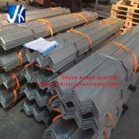 China equal angle unequal angle hot dipped galvanized steel angle bar wholesale