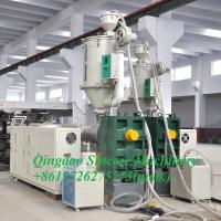 China Double-layer plastic corrugated pipe making machine for HPDE PP PE on sale