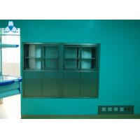 China Hospital Air Clean Custom Medicine Cabinets , Anodized Embedded Stainless Steel Medicine Cabinet wholesale