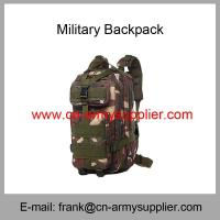 Wholesale Cheap China Army Camouflage Water-resistant  Military 3P Backpack Manufactures