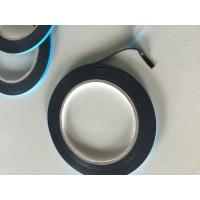 China Double sided PE black foam tape with blue liner wholesale
