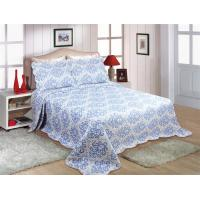 China Household Printed Quilt Set Lightweight 220x240 / 240x260cm Machine Washing wholesale