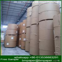 China one side white coated duplex board grey back for packaging wholesale
