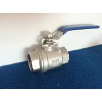 China 1 NPT / BSPT / BSPP SS Female Thread Ball Valve with Wcb / 304 / 316 1000wog wholesale