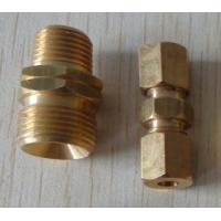 China brass compression fitting parts wholesale