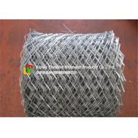 China Lightweight Flattened Expanded Metal MeshLow Carbon Steel Hot Dipped Galvanized wholesale
