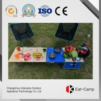 China Light Travel Box Foraluminum Storage Box For Outdoor Barbecue Cooking  Station wholesale