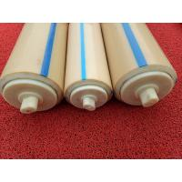 China Natural Color Plastic Nylon Rollers Small Power Consumption For Industries , Long Service Life wholesale