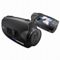 China 1080-pixel HD Helmet Camera with 110 Degrees Viewing Angle wholesale