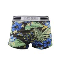 Buy cheap Sexy Cotton Printed Pattern Trunks Low Rise Men Underwear With Silica Logo from wholesalers