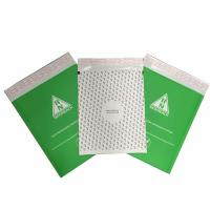 China Custom kraft padded envelope/printed kraft bubble mailer on sale