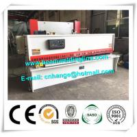 China 10x3200 NC Hydraulic Shearing Machine Swing Type Electric Controller System wholesale