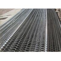 China Professional Flat Flex Wire Belt , Stainless Conveyor Belt Balanced For Conveyer on sale
