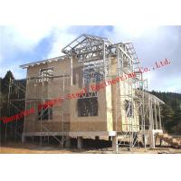 China Aluminum-zinc Alloy Structure Light Weight Steel Villa with Corrosion Resistance wholesale