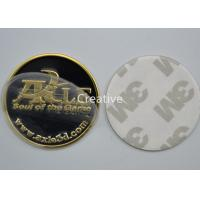 China Round Self - Adhesive Embossed Label Printing Waterproof For Auto Parts wholesale