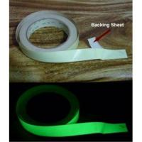 China Glow in the dark  print  paper  tape sel-adhesive tape wholesale