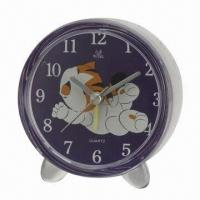 China Desk Clock, Without Voice, All Kinds of Alarm Clocks Available with Sweep Snooze Function  wholesale