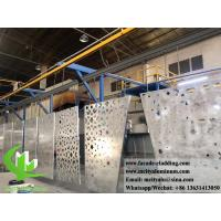 Quality External Powder Coated Metal Aluminium Facade With Perforation Design 3mm Akzo for sale
