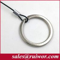 China RUIWOR RW0014 Customizable Demountable Key Ring Cable End work with Anti Theft Pull Box / Retractable Security Tether wholesale