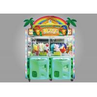 China Scissors Man Arcade Claw Machine / 350W Kids Claw Machine With LED Lighting Effect wholesale