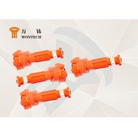 China Low Air Consumption DTH Hammer Bits Fast Drilling Speed Stable Function wholesale