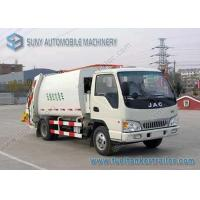 China JAC Chassis 1 Ton Small Garbage Trucks Automatic Simple 120hp wholesale