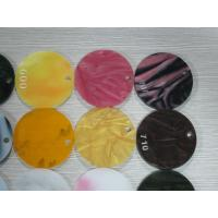 China Round Shapes Custom Size Colored Acrylic Sheets 2 To 25mm Thickness wholesale