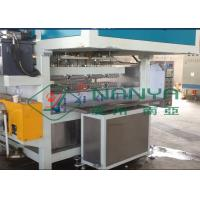 China Recycling Paper Double Roller Egg Carton / Egg Tray Pulp Moulded Machine 1 Year Warranty wholesale