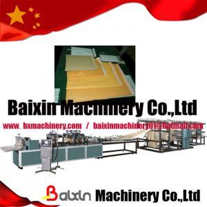 China Kraft Paper Bubble Envelope Bag Making Machine wholesale