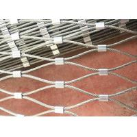 China 316 Flexible Stainless Steel Mesh Netting Balustrade for Marinas wholesale