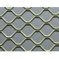 China Mini-Holed / Standard / Heavy Plastic Soaked Stainless Steel Expanded Metal Plate Mesh wholesale