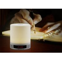 China Hot new products Wireless LED night Light alarm clock mini Speaker Bluetooth with fm radio WQ-BT029 wholesale