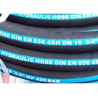 China ID 3 / 4 ~ 2 Very High Pressure 4 Wire Hydraulic Hose EN 856 4SH on sale