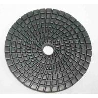 China best quality 4inch/100mm Hexagon dry diamond polishing pad for granite wholesale