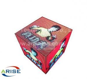 China LED Cube-P3-7.96,ariseled.com,Led Stage Screen-DJ screen/LED DJ booths,Creative LED Displa on sale