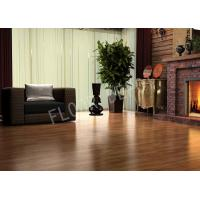 Buy cheap Wood Non Slip Laminate Flooring ECO Thickness 8mm E1 Waxed Birch Color from wholesalers