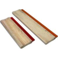 China Wooden 90 * 23mm Screen Printing Squeegee Handle For Silk Screen Printing wholesale