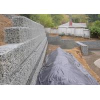 China Safety Retaining Wall Gabion Baskets Square Or Hexagonal Shape Easy To Install wholesale