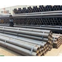 China A53 / ASTM 5L Round Hollow Steel Pipe , Seamless Boiler Tubes High Frequency Welded on sale