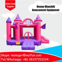 China cheap indoor inflatable bouncer castle playground equipment-customized Minions bouncy house wholesale