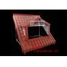China Custom PVC Roof Tile Making Machine with SJZ-80/156 Plastic Extruder 1.5~ 5m/min wholesale